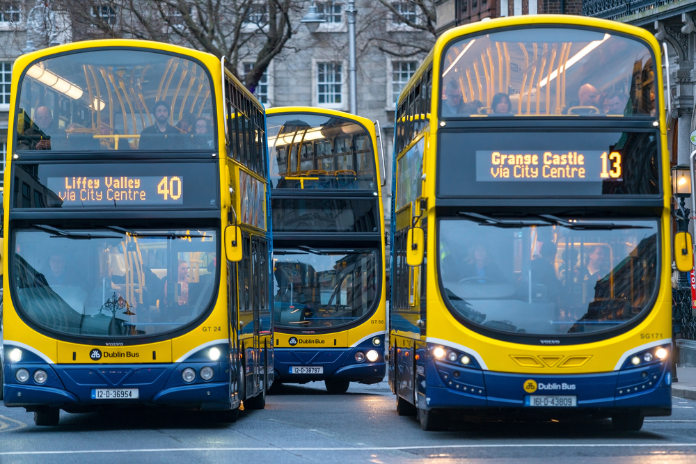 Public transport affected tomorrow due to Hurricane Ophelia