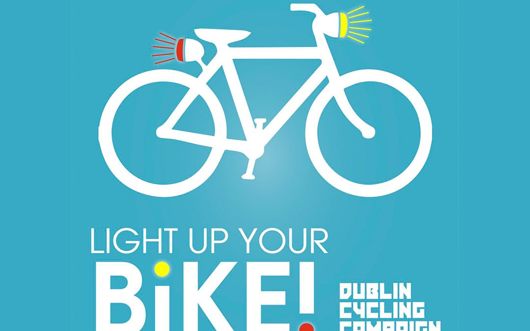 Dublin cyclists can get free bike lights this week